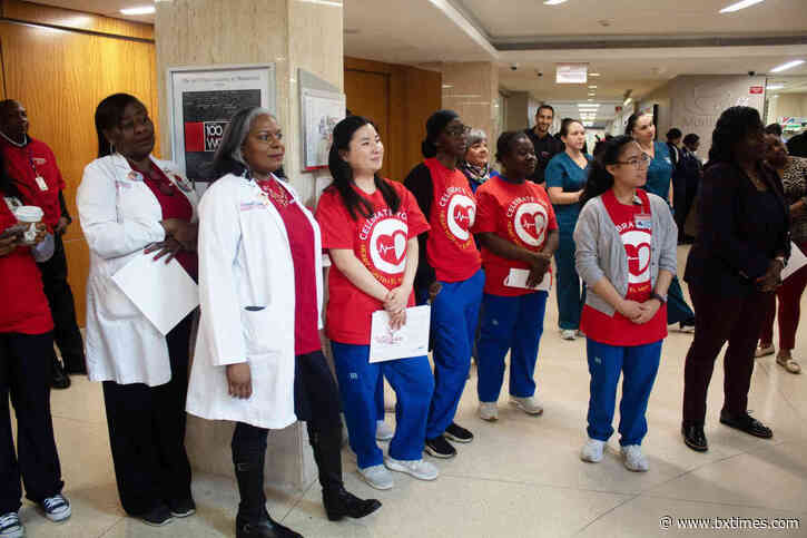 Annual indoor walk recognizes February Heart Month