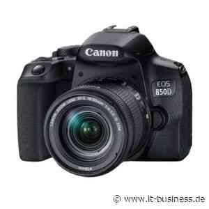 Canon EOS 850D: Allround-Kamera für unter 1.000 Euro - IT-BUSINESS