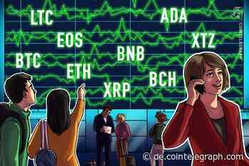 Kursanalyse, 14. Februar: BTC, ETH, XRP, BCH, BSV, LTC, EOS, BNB, XTZ, ADA - Cointelegraph Deutschland
