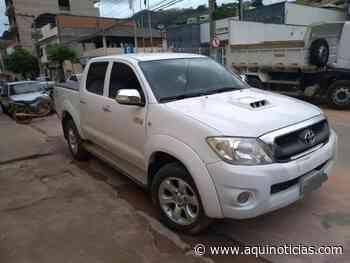 Veículo levado por assaltantes na Bahia é recuperado em Muniz Freire pela PM - Aqui Notícias - www.aquinoticias.com