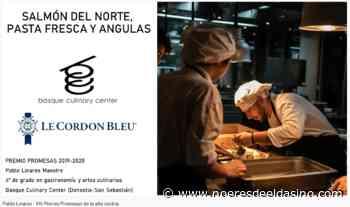 El cocinero eldense, Pablo Linares, finalista para conseguir el Premio Promesas de la alta cocina de la prestigiosa escuela Le Cordon Bleu - No Eres de Elda Si No...