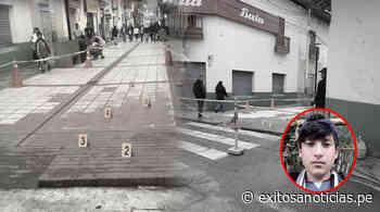 Matan a joven en serenata de aniversario de Cajabamba - exitosanoticias