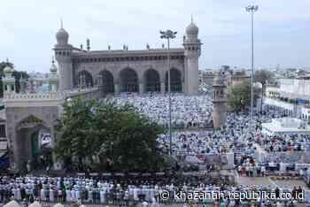 Perdana, Kelas Yoga Digelar di Masjid Hyderabad - Republika Online