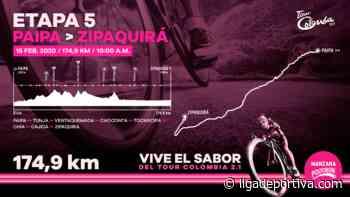 Tour Colombia: Previo Etapa 5 / Paipa – Sogamoso - Liga Deportiva Postobón