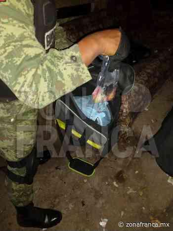 Autoridades aseguran droga en la colonia Vista Hermosa, en León - Zona Franca