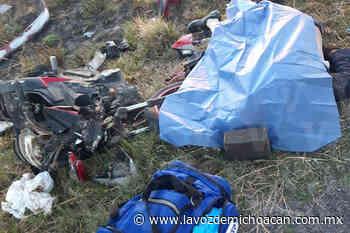 Motociclista muere al accidentarse en Vista Hermosa - La Voz de Michoacán