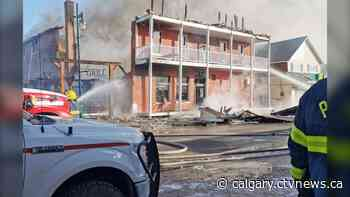 'It's devastating': owner of destroyed King Edward Hotel in Pincher Creek hopes to rebuild - CTV News
