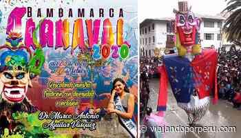 Programa oficial del Carnaval de Bambamarca 2020 - Viajando por Perú