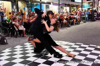 Primera «Tarde-Noche de Tango» en la peatonal de Grand Bourg - Zona Norte Visión
