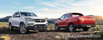 SsangYong's Rexton Sports logs 40,000 units of annual sales for 2 years - The Korea Herald