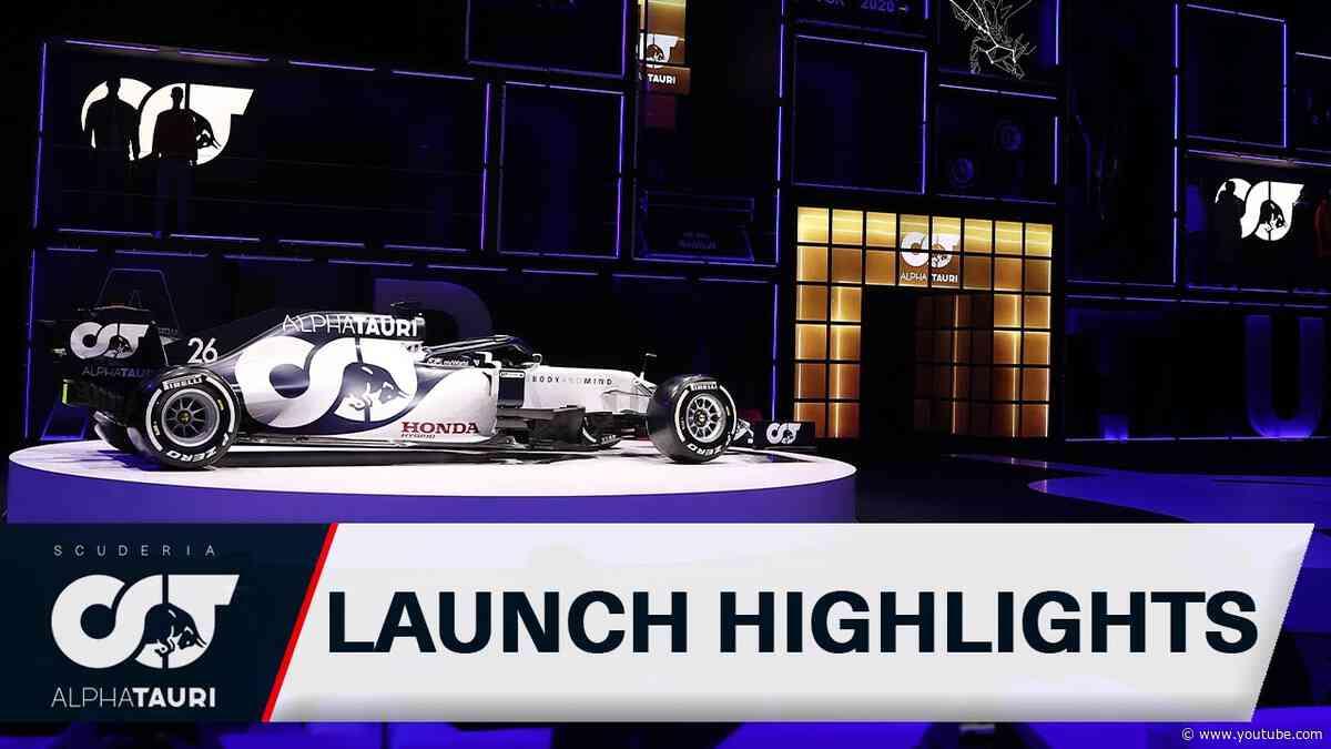 Scuderia AlphaTauri Live Launch - HIGHLIGHTS
