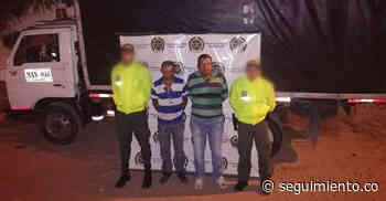 Caen dos hombres por robo de ganado en Pivijay - Seguimiento.co