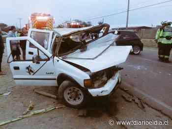 Colisión frontal entre dos vehículos deja varios lesionados en Pan de Azúcar - El Día