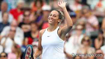 Madison Keys spreading kindness on and off the tennis court