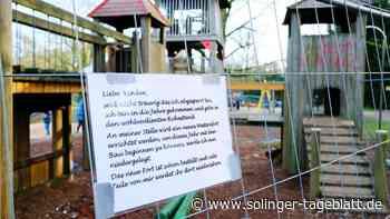 Spielplatz am Engelsberger Hof erhält eine neue Ritterburg