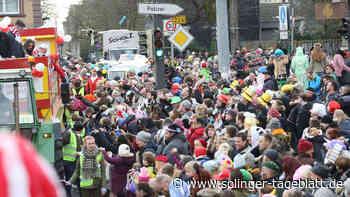 Blütensamstagszug: Polizei appelliert an Jugendliche aus Solingen
