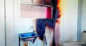 Desconocidos queman aulas de colegio Alfonso Ugarte del anexo de Huari - Diario Correo