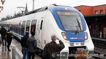 Regionalexpress-Züge fuhren mit Verspätung