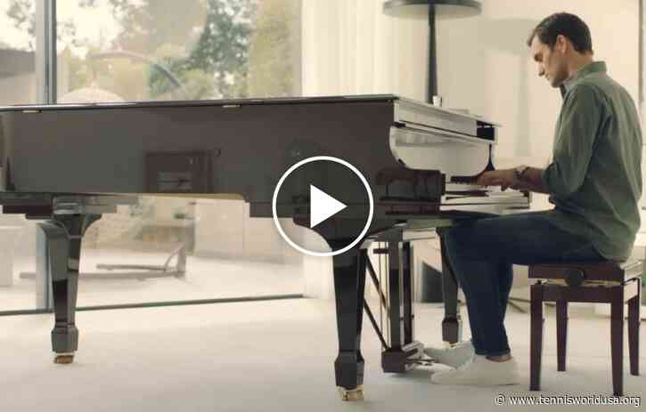 That time when Roger Federer played the piano