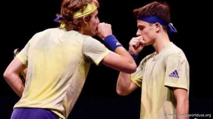 ATP Marseille: Tsitsipas brothers edged out by No. 1 seeds in doubles opener