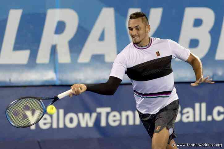 Nick Kyrgios loves Delray Beach but can't play this week