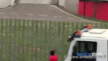 VIDEO - Castiglione delle Stiviere: 29enne semina il panico armato di ascia - BresciaToday
