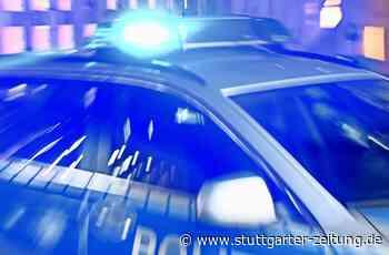 Verfolgungsjagd bei Schwieberdingen - BMW-Fahrer rast Polizei davon - Stuttgarter Zeitung