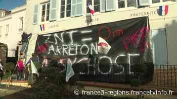 Les Andelys : des agriculteurs manifestent contre l'interdiction de pulvériser des pesticides trop près des - France 3 Régions