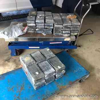 Ocupan cocaína valorada en $2.5 millones en ferry de Santo Domingo - Primera Hora