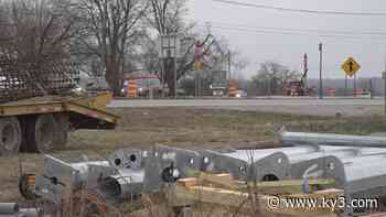 Stoplight construction underway at deadly intersection in Boone County, Ark. - KY3
