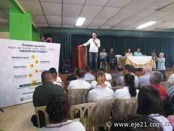 El gobierno llegó a Marulanda y Aranzazu para terminar el recorrido por el norte - Eje21