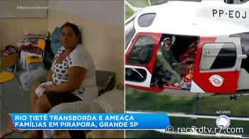 Famílias se abrigam em escola após devastação em Pirapora do Bom Jesus (SP) - R7