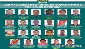 Capturan a dos del cartel de 'Los Más Buscados' de Córdoba - Caracol Radio