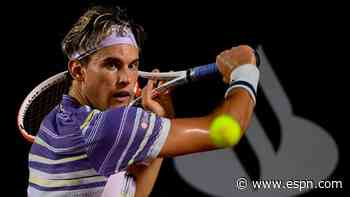 Thiem advances at Rio Open, Ruud knocked out