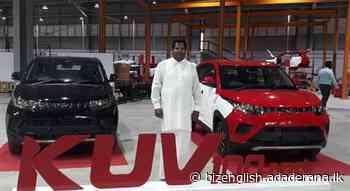"""Made in Sri Lanka"" Mahindra KUV100 NXT hits the market for Rs.3.05Mn - Adaderana Biz English | Sri Lanka Business News - adaderana.lk"