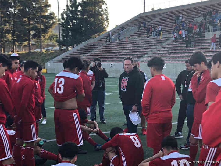 Santa Ana boys soccer falls in CIF Division 1 quarterfinals but gains respect from Loyola