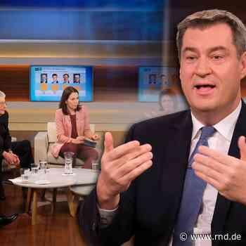 Anne-Will-Talkshow: Der Gewinner ist Markus Söder - RND