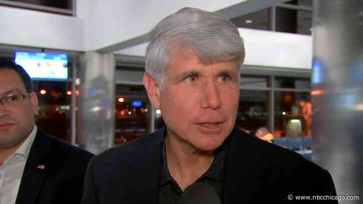 'Profound & Everlasting Gratitude to President Trump': Blagojevich Leaves Prison Hopeful, Ready to Fight for Justice