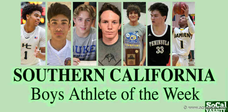 VOTE: Southern California Boys Athlete of the Week (Feb. 21)
