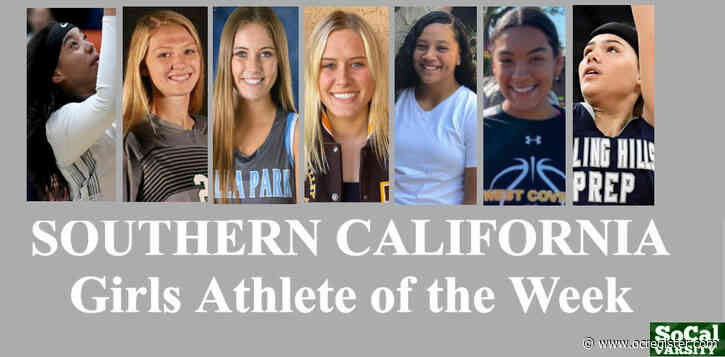 VOTE: Southern California Girls Athlete of the Week (Feb. 21)
