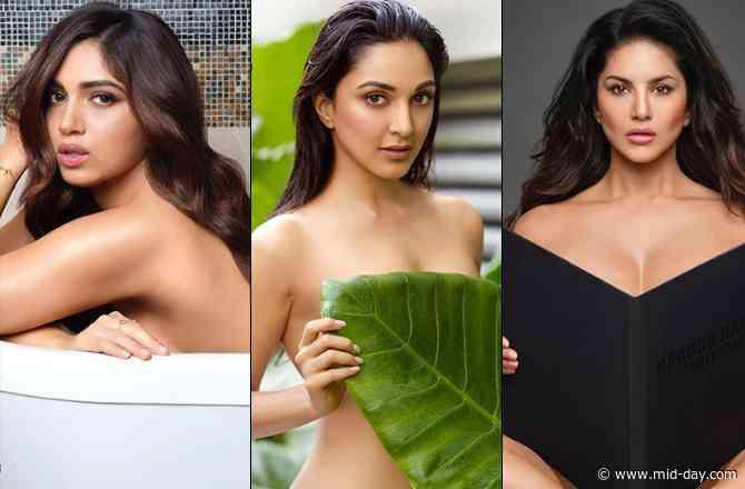 Dabboo Ratnani Calendar 2020: Kiara Advani, Bhumi Pednekar and Sunny Leone go topless