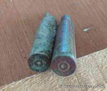 Cápsulas de fuzis são encontradas em obras de praça em Baixo Guandu-ES. - Colatina em Ação