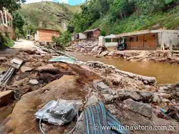 Um mês após enchente, Vargem Alta ainda tem 1.203 desalojados - Jornal Folha Vitória