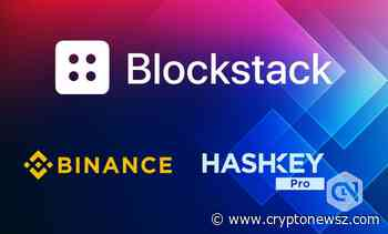 HashKey Pro & Binance to List the STX Token of Blockstack - CryptoNewsZ