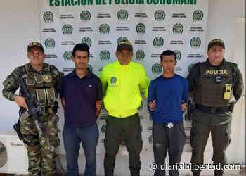 Asesinos de político en el Tolima, fueron capturados en Curumaní - Diario La Libertad