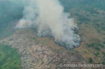 Disidencias estarían detrás de incendio en parque natural de La Macarena - Noticias Caracol