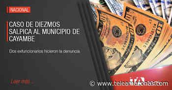 Exempleados del Municipio de Cayambe denuncian cobro de diezmos - Teleamazonas