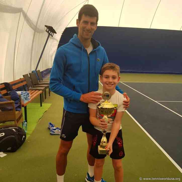 Serbian Youngster Mihailo Topic Meets Novak Djokovic and Goran Ivanisevic