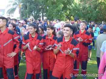 San Jerónimo Norte recibe a más de 700 cadetes de Bomberos Voluntarios - Sin Mordaza