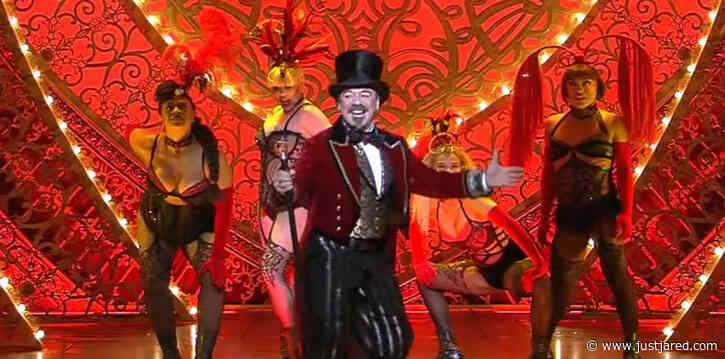 Broadway's 'Moulin Rouge' Cast Performs Thrilling Opening Number on 'GMA' - Watch Now!